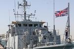 روسی بحریہ کی بحیرہ اسود میں برطانوی جہاز پر انتباہی فائرنگ