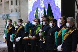 آیین خطبه خوانی و نقاره زنی درحرم امام خمینی(ره) برگزار شد