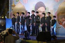 جشن شکرانه انتخابات در ورامین