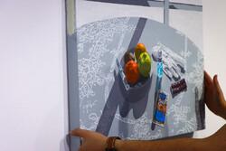 آثار هنرمندان جوان در گالری آرتیبیشن روی دیوار میرود