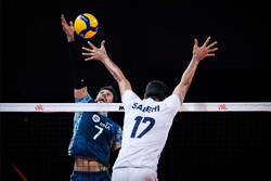 Iran volleyball loses to Argentina in 2021 VNL on Wednesday