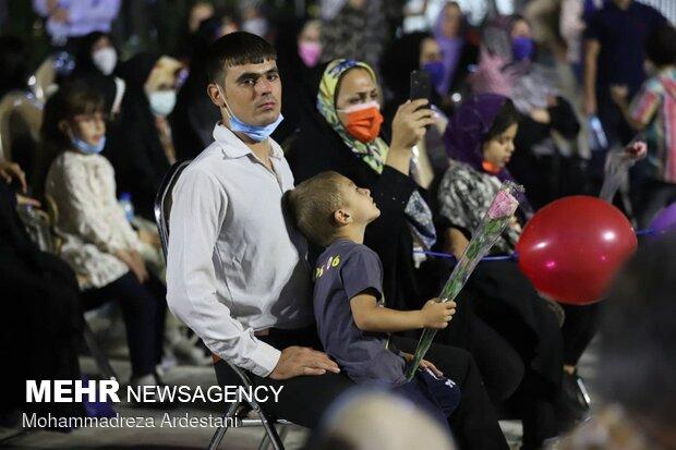 جشن شکرانه حضور در انتخابات در ورامین برگزار شد