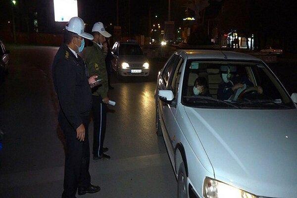 محدودیت های تردد شبانه در زنجان همچنان برقرار است
