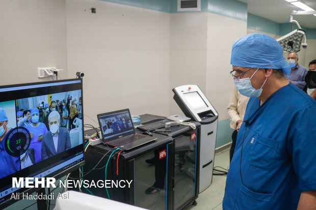 1st remote surgery with domestic device performed in Iran
