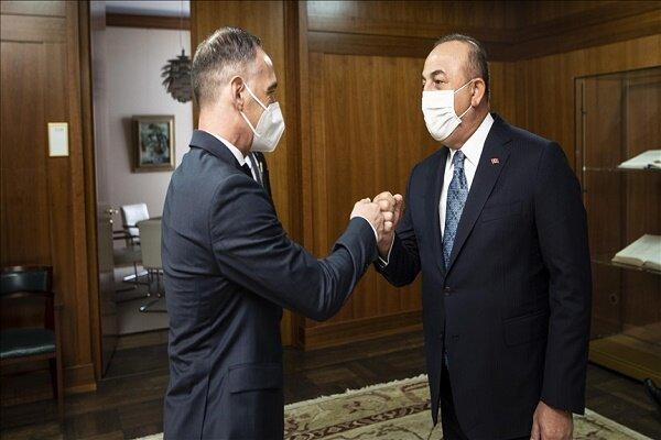 وزرای خارجه ترکیه و آلمان با یکدیگر دیدار و گفتگو کردند