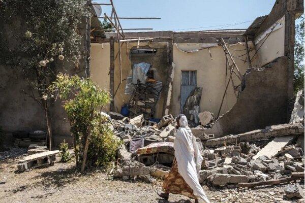 ایتھوپیا میں ایک مصروف بازار پر فضائی بمباری کے نتیجے میں 80 افراد ہلاک