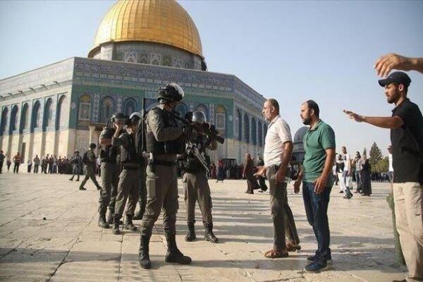 قوات الاحتلال تقتحم باحات مسجد الأقصى عشية يوم عرفة