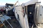 حادثه امروز دهشیر از دوربین مداربسته پمپ بنزین
