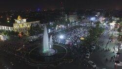 جشن پیروزی حجتالاسلام رئیسی در رشت