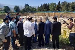 معاون رئیس جمهور از پروژه های عمرانی شرق گلستان بازدید کرد