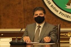 رئیس اقلیم کردستان عراق با پادشاه اردن دیدار کرد