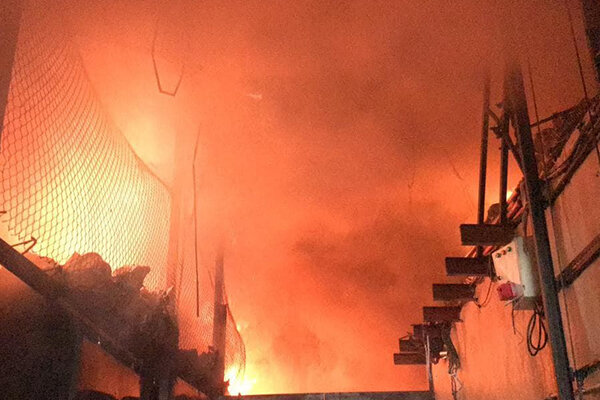 آخرین جزئیات آتش سوزی در محدوده بازار تهران