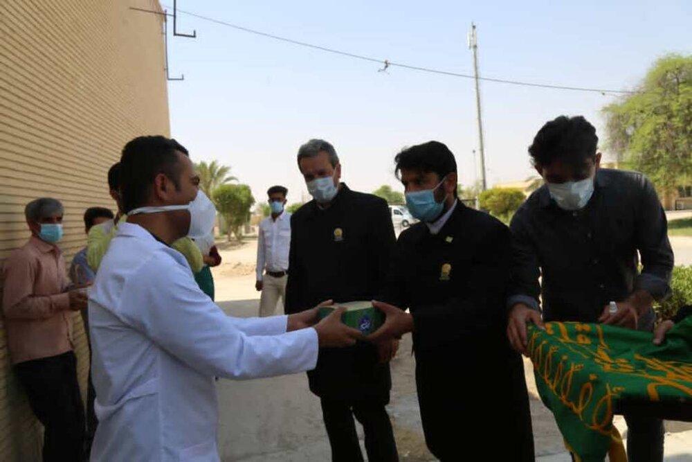 مدافعان سلامت شهرستان دشتی تجلیل شدند