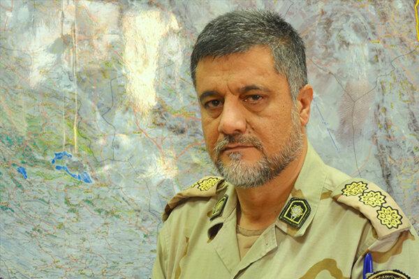توجه ویژه فرمانده ناجا به سرباز مجروح مرزبانی