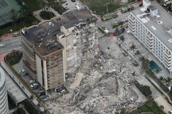 شمار قربانیان ریزش آپارتمان در فلوریدای آمریکا به ۱۶ نفر رسید