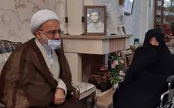 رئیس دیوان عدالت اداری با خانواده شهید رضائیان دیدار کرد