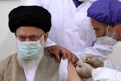 رہبر معظم انقلاب اسلامی  نے ایرانی ویکسین کا پہلا ٹیکہ لگوا لیا