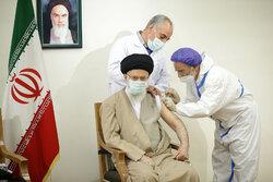 İslam Devrimi Lideri aşı oldu