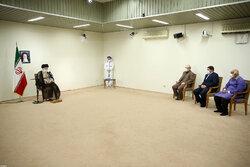 Leader receives 1st dose of COV-Iran Barekat vaccine