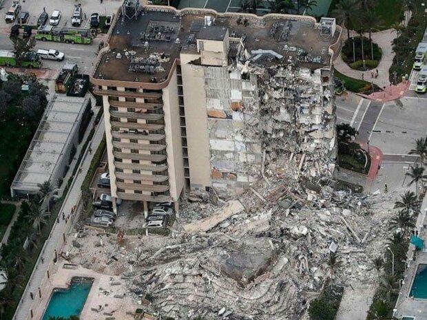 امریکہ میں عمارت گرنے سے ایک شخص ہلاک اور 51 افراد ملبے تلے دب گئے