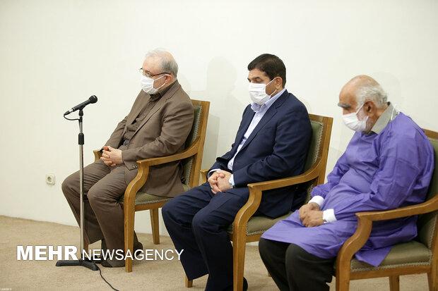 دریافت نوبت اول واکسن ایرانی کرونا توسط رهبر انقلاب