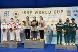 Iran wins second gold medal at ISSF World Cup