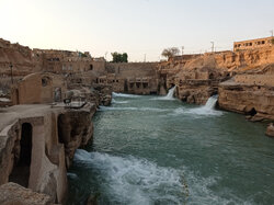 Traditional watermills in Shushtar