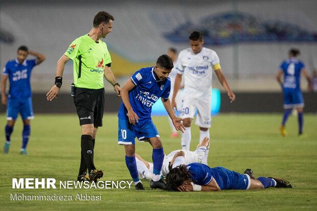 Tehran's Esteghlal FC vs Sirjan's Gol Gohar ended 2-0