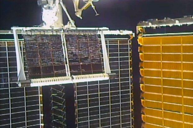 دومین پنل خورشیدی جدید ایستگاه فضایی بین المللی نصب شد
