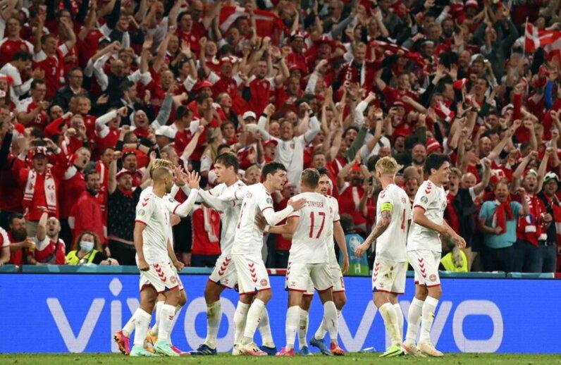 دانمارک با غلبه بر ولز به یک چهارم نهایی صعود کرد/حذف یاران «بیل»
