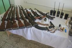 انهدام ۲ باند بزرگ قاچاق سلاح و مهمات در مرز ایلام