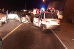 یک کشته و ۱۰ مصدوم در سانحه رانندگی محور ساوه – همدان