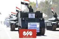 Haşdi Şabi, askeri geçit töreni düzenledi