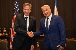 وزير خارجية الکیان الصهیوني يلتقي نظيريه الأمريكي والبحريني
