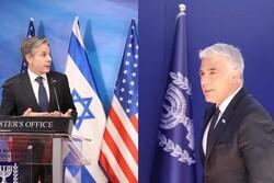 یائیر لاپید: هدف آمریکا و اسرائیل در قبال برنامه هستهای ایران مشترک است/ در روش اختلاف نظر داریم