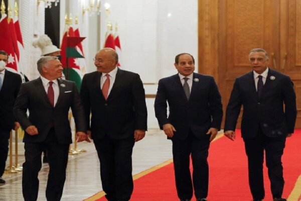 Egypt, Jordan, Iraq leaders stress Palestinian rights