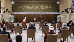 Leader receives judiciary officials