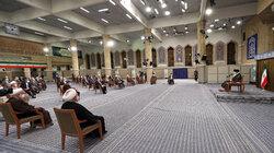 Ayatollah Khamenei's meeting with judiciary officials