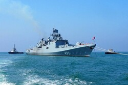 Russia stages naval drill in Mediterranean Sea