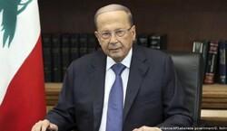 ميشال عون يشيد بنضال الشعب الفلسطيني