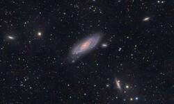 مرصد ايراني يرصد مجرات ضخمة على مسافة 66 تريليون مليار كيلومتر