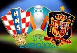تساوی پرگل در نود دقیقه هیجانی اسپانیا و کرواسی