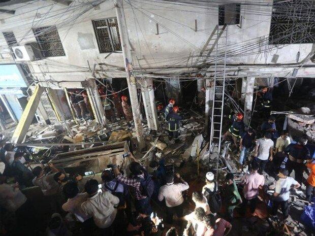 ڈھاکہ میں دھماکے کے نتیجے میں 7 افراد ہلاک