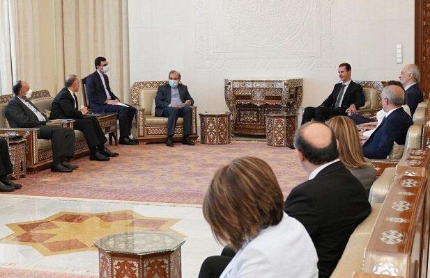 Suriye'ye İran heyetinden önemli ziyaret