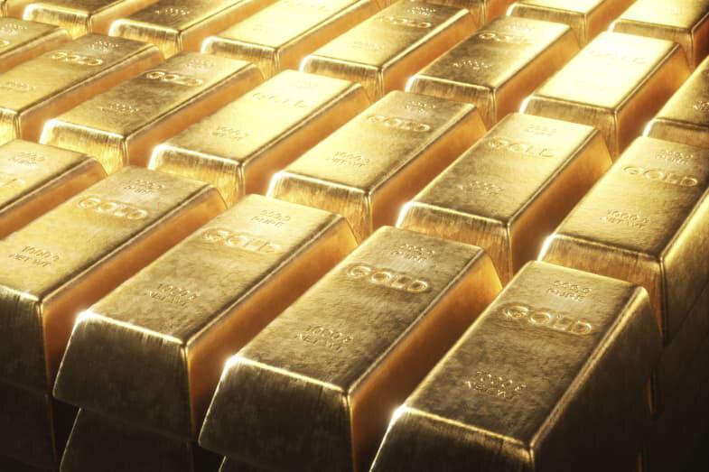 قیمت جهانی طلا نوسان کرد/  هر اونس ۱۷۶۳ دلار