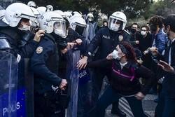 بازداشت دستکم ۱۵ نفر در جریان تجمع اعتراضی امروز در استانبول