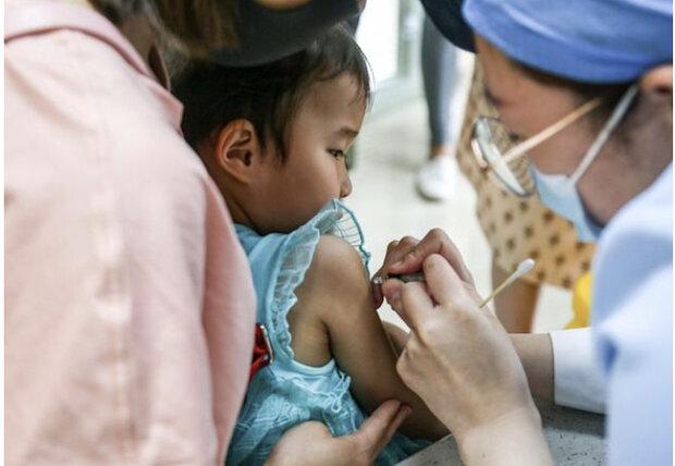 واکسن کرونای چینی کودکان ۳ ساله را ایمن می کند