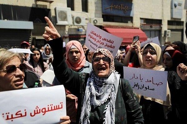 الفلسطينيون يتصدون لمحاولة هدم منازلهم في حي البستان بالقدس