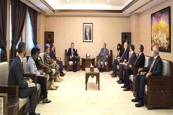 المقداد يؤكد حق سوريا الثابت باسترجاع الجولان المحتل