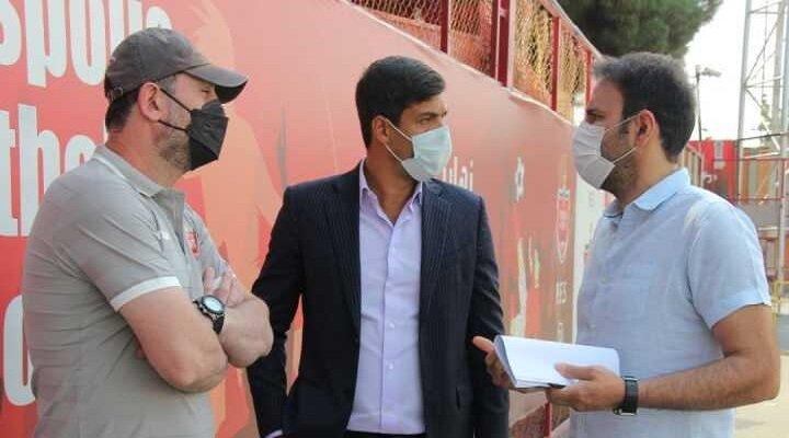 جلسه شکوری و خلیلی برای فوتبال پایه پرسپولیس